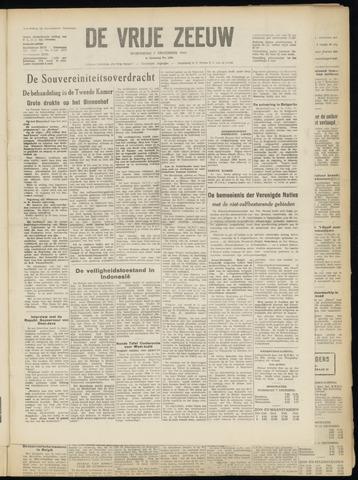 de Vrije Zeeuw 1949-12-07