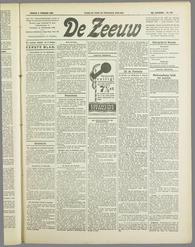 De Zeeuw. Christelijk-historisch nieuwsblad voor Zeeland 1934-02-02