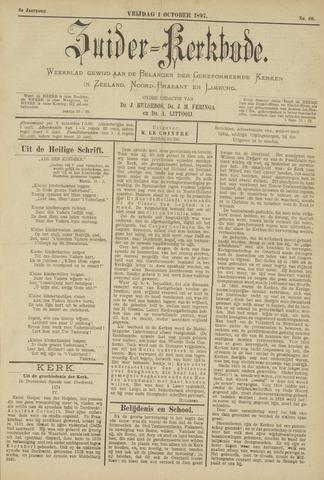 Zuider Kerkbode, Weekblad gewijd aan de belangen der gereformeerde kerken in Zeeland, Noord-Brabant en Limburg. 1897-10-01