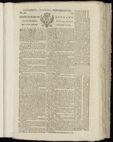 Middelburgsche Courant 1801-07-23