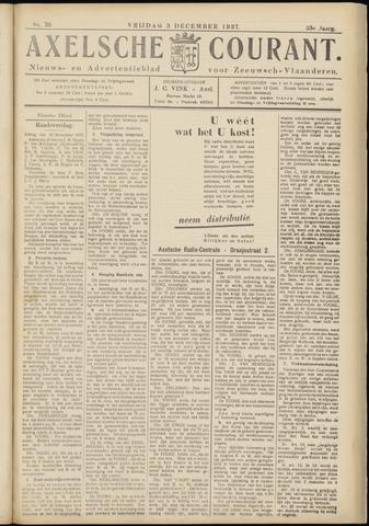 Axelsche Courant 1937-12-03