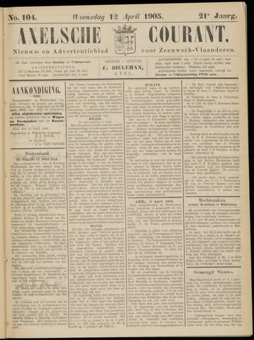Axelsche Courant 1905-04-12