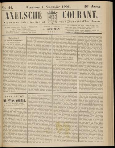 Axelsche Courant 1904-09-07