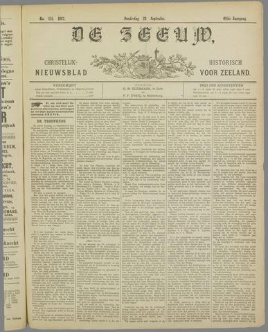 De Zeeuw. Christelijk-historisch nieuwsblad voor Zeeland 1897-09-23