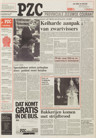 Provinciale Zeeuwse Courant 1987-06-26