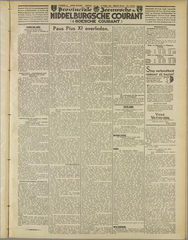 Middelburgsche Courant 1939-02-10