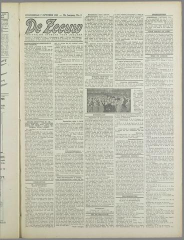 De Zeeuw. Christelijk-historisch nieuwsblad voor Zeeland 1943-10-07