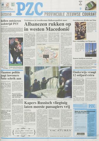 Provinciale Zeeuwse Courant 2001-03-16