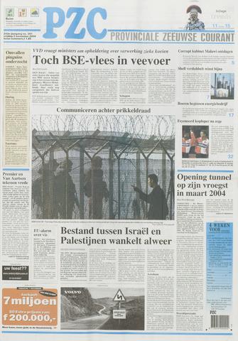 Provinciale Zeeuwse Courant 2000-11-03