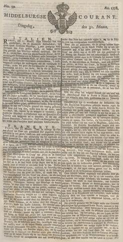 Middelburgsche Courant 1778-03-31