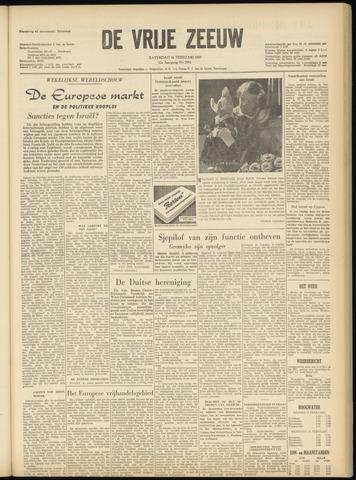 de Vrije Zeeuw 1957-02-16