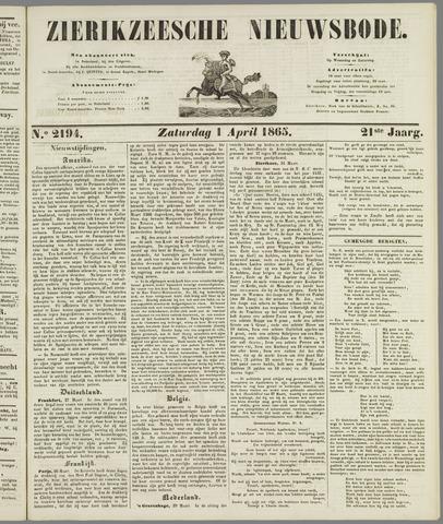 Zierikzeesche Nieuwsbode 1865-04-01