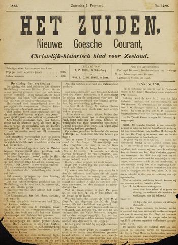 Het Zuiden, Christelijk-historisch blad 1885-02-07