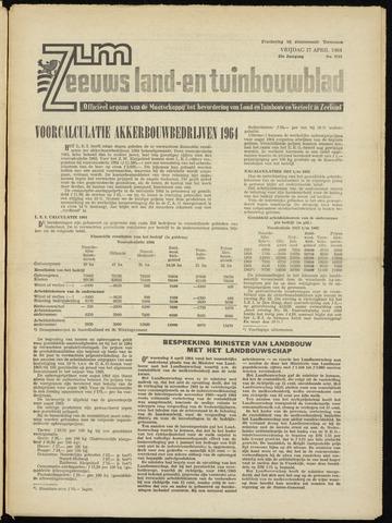 Zeeuwsch landbouwblad ... ZLM land- en tuinbouwblad 1964-04-17