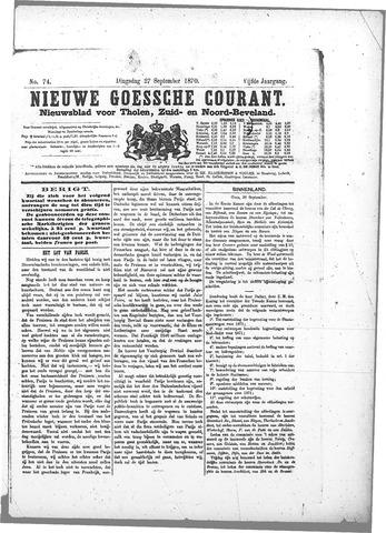Nieuwe Goessche Courant 1870-09-27