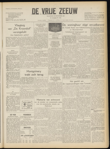 de Vrije Zeeuw 1957-11-18
