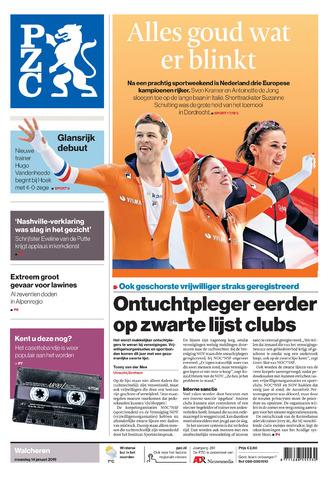Provinciale Zeeuwse Courant 2019-01-14