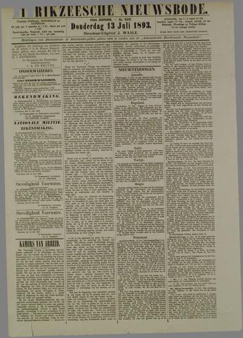 Zierikzeesche Nieuwsbode 1893-07-13