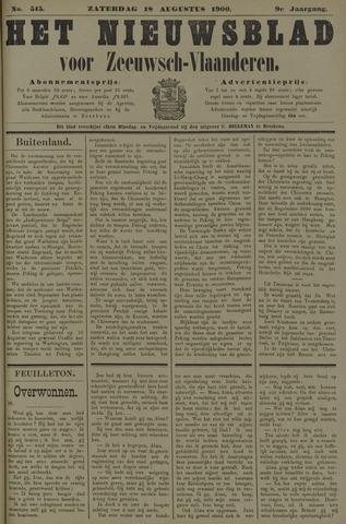 Nieuwsblad voor Zeeuwsch-Vlaanderen 1900-08-18