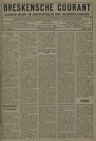 Breskensche Courant 1921-04-27