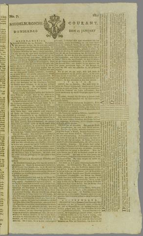Middelburgsche Courant 1807-01-15