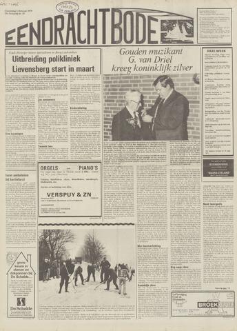 Eendrachtbode (1945-heden)/Mededeelingenblad voor het eiland Tholen (1944/45) 1979-02-22