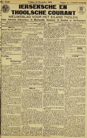 Ierseksche en Thoolsche Courant 1931-12-11