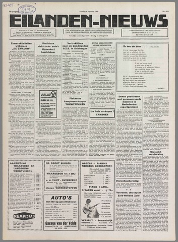 Eilanden-nieuws. Christelijk streekblad op gereformeerde grondslag 1980-08-04