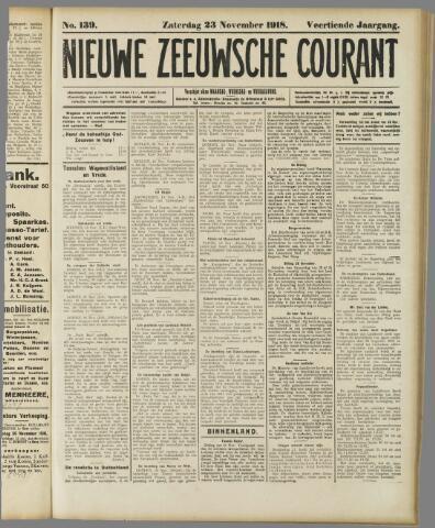 Nieuwe Zeeuwsche Courant 1918-11-23