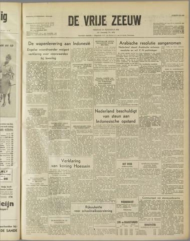 de Vrije Zeeuw 1958-08-22