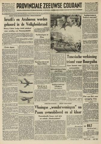 Provinciale Zeeuwse Courant 1956-03-27