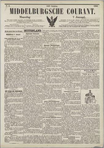Middelburgsche Courant 1901-01-07