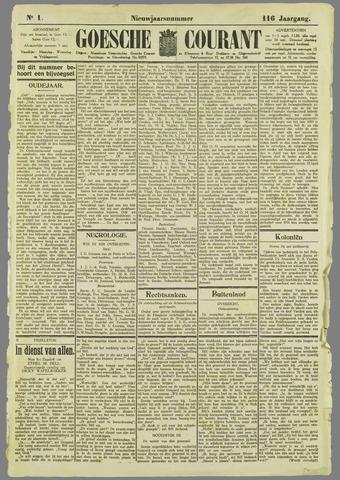 Goessche Courant 1929