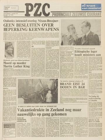 Provinciale Zeeuwse Courant 1974-07-01