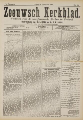 Zeeuwsche kerkbode, weekblad gewijd aan de belangen der gereformeerde kerken/ Zeeuwsch kerkblad 1909-12-03