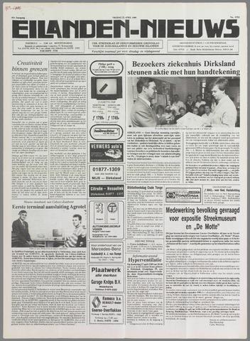 Eilanden-nieuws. Christelijk streekblad op gereformeerde grondslag 1989-04-21