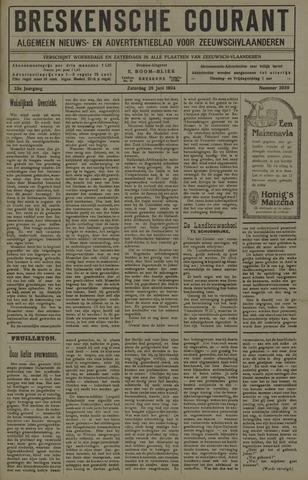 Breskensche Courant 1924-06-28