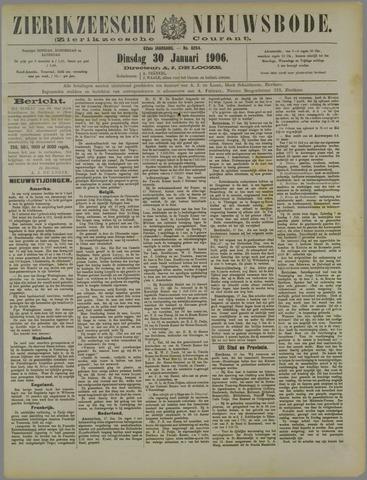 Zierikzeesche Nieuwsbode 1906-01-30