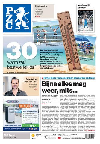 Provinciale Zeeuwse Courant 2020-06-25