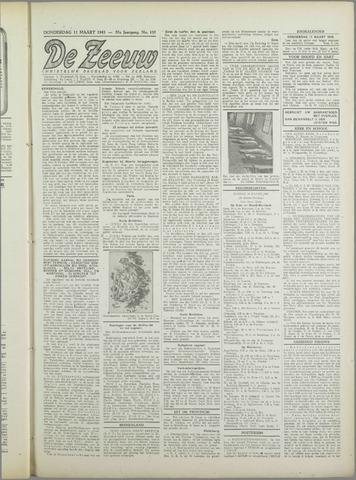 De Zeeuw. Christelijk-historisch nieuwsblad voor Zeeland 1943-03-11