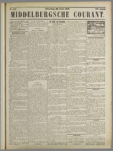 Middelburgsche Courant 1919-07-29