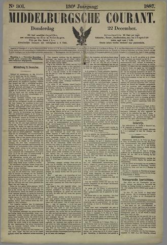 Middelburgsche Courant 1887-12-22