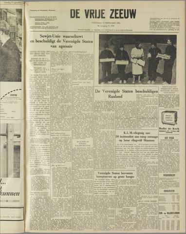de Vrije Zeeuw 1962-09-12