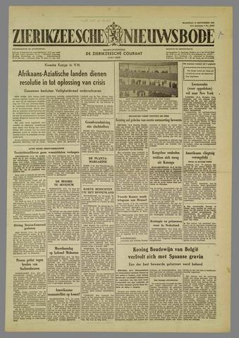 Zierikzeesche Nieuwsbode 1960-09-19