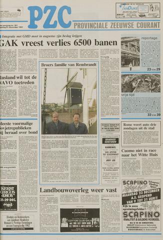 Provinciale Zeeuwse Courant 1991-12-21