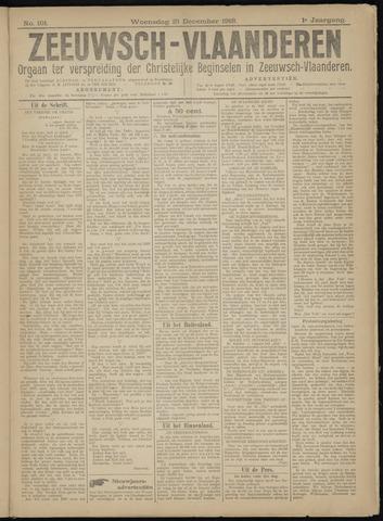 Luctor et Emergo. Antirevolutionair nieuws- en advertentieblad voor Zeeland / Zeeuwsch-Vlaanderen. Orgaan ter verspreiding van de christelijke beginselen in Zeeuwsch-Vlaanderen 1918-12-25