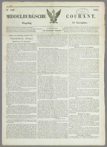Middelburgsche Courant 1861-11-19