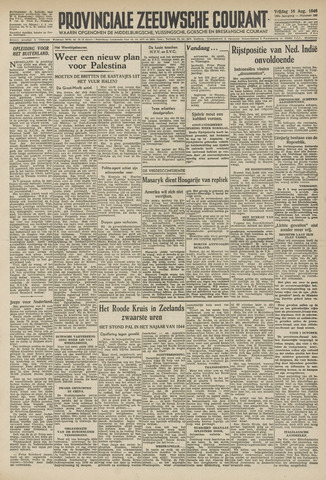 Provinciale Zeeuwse Courant 1946-08-16