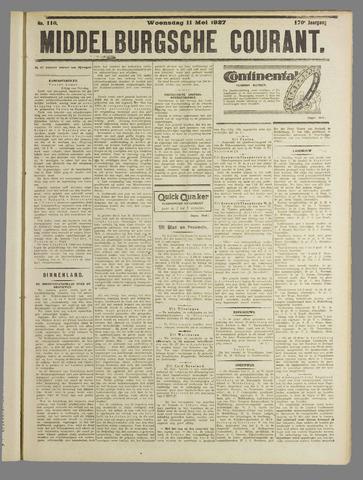Middelburgsche Courant 1927-05-11