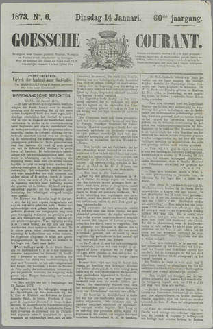 Goessche Courant 1873-01-14